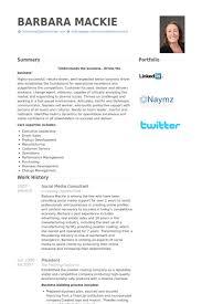 Social Media Resume Sample by Social Media Consultant Resume Samples Visualcv Resume Samples
