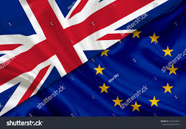 Flag Of The European Union British Flag Flag European Union Stock Illustration 442341874
