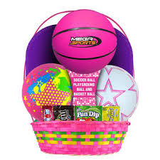 sports easter baskets girl sports easter basket 29 seasonal easter baskets