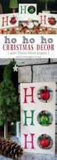 diy upcycled home decor ho ho ho christmas decor diy christmas dollar stores and