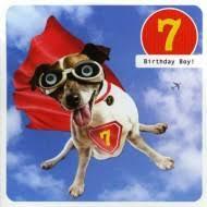 age 7 birthday cards birthday age cards 1 to 10 children u0027s