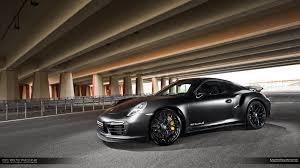 porsche 911 black matte black porsche 911 turbo s by mm performance gtspirit