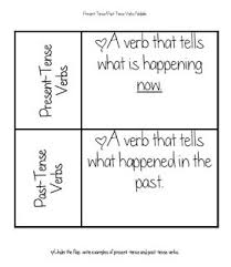 83 best past tense verbs images on pinterest past tense verb