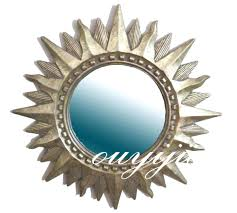big round mirror shopwiz me full image for aliexpresscom buy large big decorative cosmetic antique wall bathroom sun mirror with framevintage