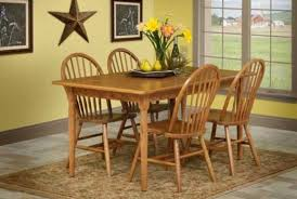 oak dining room set burress oak collections burress furniture
