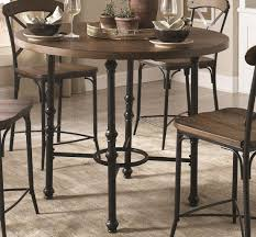 monticello 5pc counter height dining set by coaster