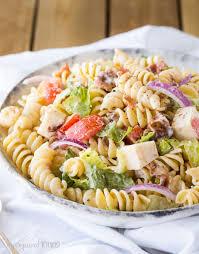 easy pasta salad blt pasta salad my organized chaos
