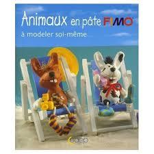 Fimo Meme - animaux en pâte fimo à modeler soi même bouquin shaker