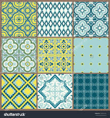 Home Design Diamonds Geometric Zoe Design Stone Tile Diamonds Detail Blue Green Diamond