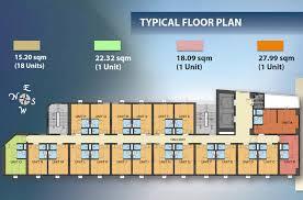 Dormitory Floor Plans Forbes Hall Dormitory Condo Investment Propertymart Ph