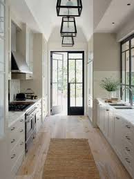 design ideas for a traditional galley kitchen in central coast