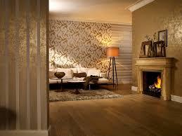 versace wohnzimmer tapeten trends moderne muster für die wand