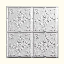 genesis 2 ft x 2 ft antique white ceiling tile 752 00 the home