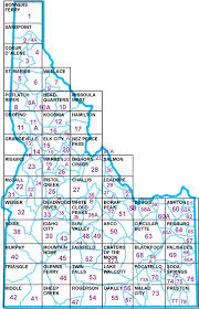 idaho zone map topographic maps for sale idaho fish and