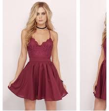 choker necklace dress images Dress burgundy dress party dress mini dress jewels jpg