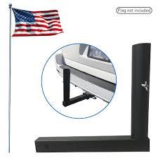 Wrought Iron Flag Pole Holder Amazon Com Trailer Hitch Mount Flag Holder Universal Flagpole