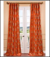 Orange And Brown Curtains Orange And Brown Curtains Curtains Ideas