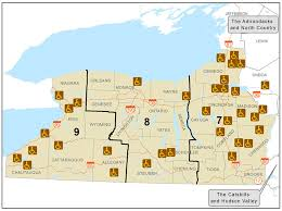 New York lakes images Finger lakes and western new york accessible recreation map nys jpg