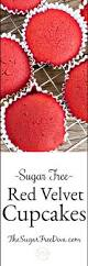 how to make sugar free red velvet cupcake recipe