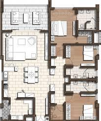 plan appartement 3 chambres appartement 3 chambres 177m2 bagatelle les résidences ile maurice
