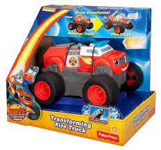 Monster Truck Bed Set Nickelodeon Blaze And The Monster Machines Transforming Fire Truck