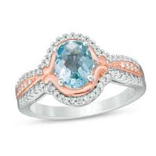 Vancaro Wedding Rings by March Birthstones Collections Zales