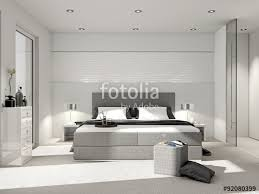 modernes schlafzimmer modernes schlafzimmer mit boxspringbett stockfotos und