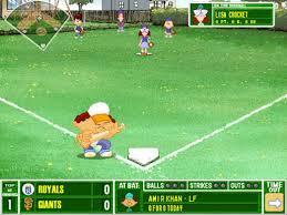 Play Backyard Baseball 2003 Amazon Com Backyard Baseball 2001 Pc Mac Video Games