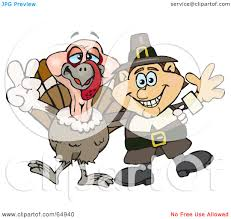 royalty free rf clipart illustration of a pilgrim and