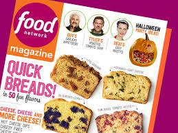 food network magazine october 2016 recipe index food network