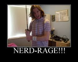 Nerd Rage Meme - 5 things that cause furious nerd rage smosh