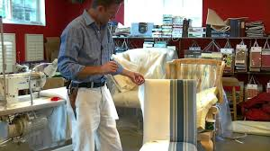 how to slipcover a chair learn how to a slipcover for a parsons chair