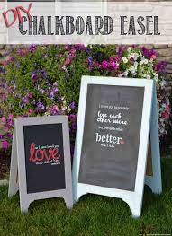 a frame chalkboard easel small her tool belt