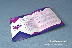 brochure templates free indesign indesign bi fold brochure template free bifold booklet flyer