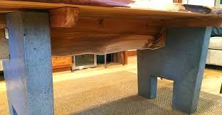Concrete Tables For Sale Concrete And Wood Dining Table Concrete And Wood Dining Room Table