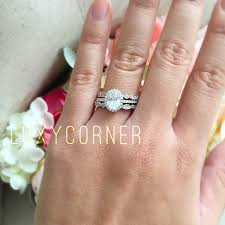 oval halo engagement ring wedding ring promise ring lab
