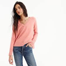 sweater in s v neck sweater in supersoft yarn s sweaters j crew