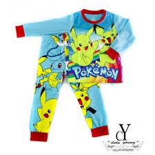 cy xd977c 139507 pyjamas pikachu disney baju tidur