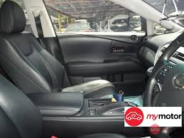 lexus rx used malaysia 2011 lexus rx for sale in malaysia for rm155 900 mymotor