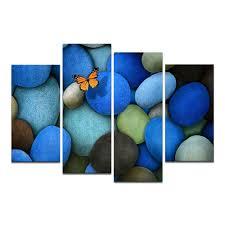 online get cheap blue butterfly art prints aliexpress com