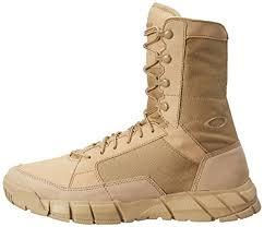 oakley light assault boot oakley men s light assault military boot desert 14 m us amazon in