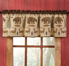 Curtains Valances Styles Rustic Curtains Cabin Window Treatments