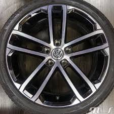 vw golf 5 6 7 gti gtd 18 inch alloy wheels rims original