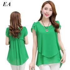 aliexpress com buy womens double irregular solid shirts women