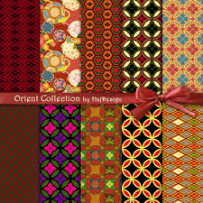 japanese digital paper orient collection digital