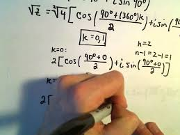 roots of complex numbers ex 1