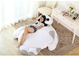 giant baymax bed filled tatami mattress sofa large bean bag great