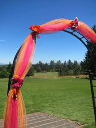 wedding arches decorated with tulle decorating a wedding arbor with tulle how to decorate a wedding