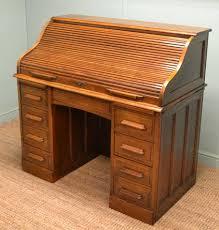 brass key secretary desk antique roll top desk antiques world