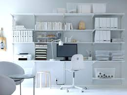 Storage Solution Ikea Office Shelving Algot White Wallmounted Storage Solution With